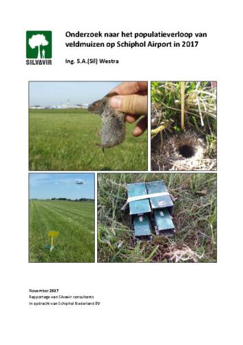 Eindrapportage Veldmuizenpopulatieonderzoek Schiphol 2017