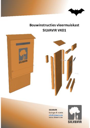 Bouwinstructies vleermuiskast SilvavirVK01