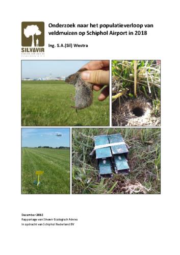 Eindrapportage veldmuizenpopulatieonderzoek Schiphol 2018