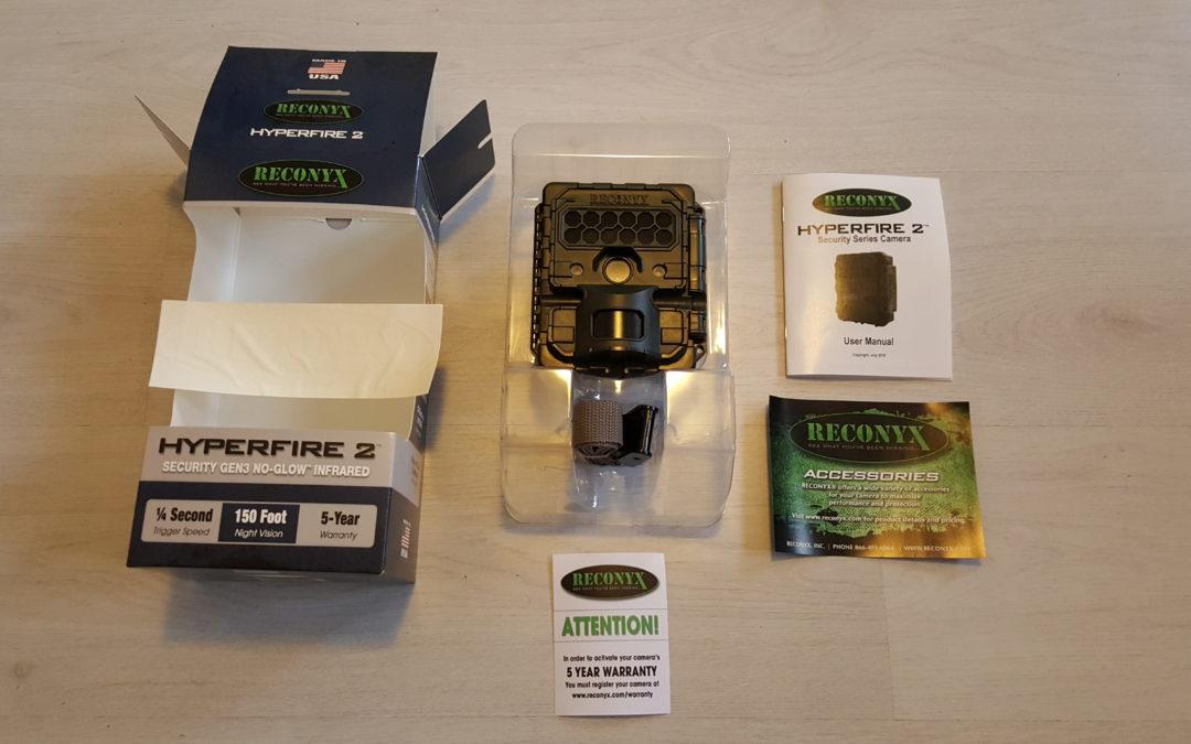 Camerareview: de nieuwe Reconyx Hyperfire 2 serie