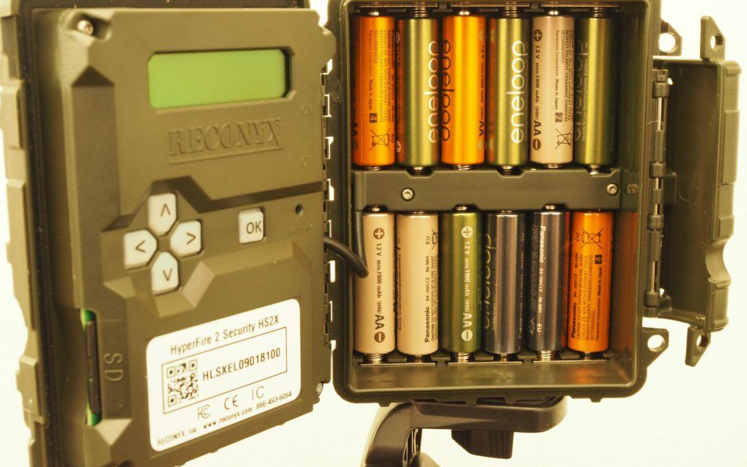 Wildcamera's & Batterijen:  Hoe zit het nou precies?