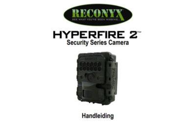 Nederlandstalige handleiding Reconyx HF2X Hyperfire